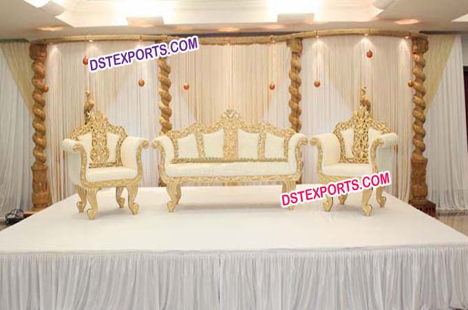 Beautiful Wedding Stage Furniture Sofa Set