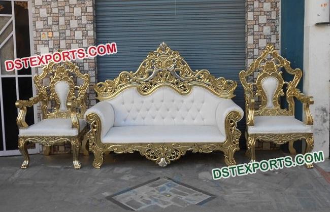 Sensational Royal Wedding Sofa Set Indian Handicrafts Exporters And Inzonedesignstudio Interior Chair Design Inzonedesignstudiocom