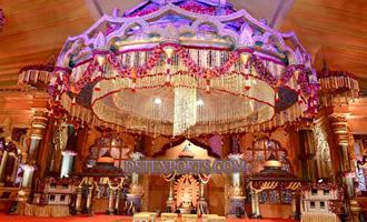 WEDDING STAGE CRYSTAL DECORS