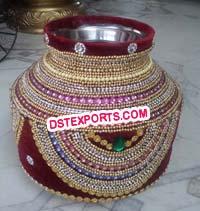 Wedding mandap Pots Choris Decoration,Indian Handicrafts Exporters